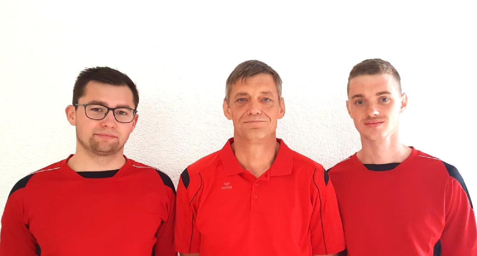 Nico Schlathaus, Lars Nagel, Pascal Nagel (Auszubildender)